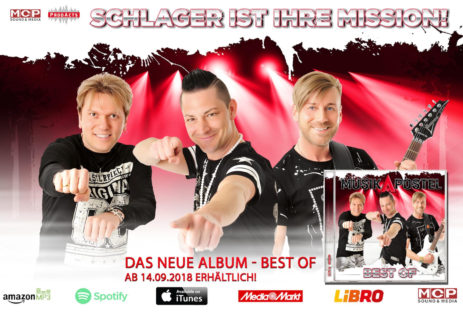 MusikApostel mainpage